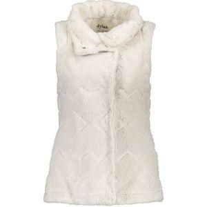 Dylan Los Angeles White Canyon Faux Fur Vest